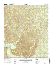 Haile Louisiana Current topographic map, 1:24000 scale, 7.5 X 7.5 Minute, Year 2015 from Louisiana Maps Store