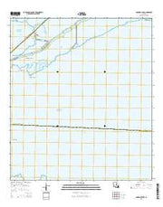Hammock Lake Louisiana Current topographic map, 1:24000 scale, 7.5 X 7.5 Minute, Year 2015 from Louisiana Maps Store