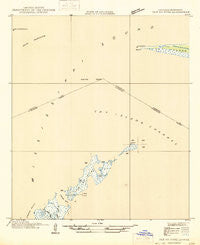 Isle Au Pitre Louisiana Historical topographic map, 1:31680 scale, 7.5 X 7.5 Minute, Year 1946