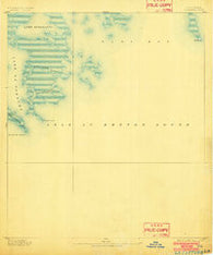 La Fortuna Louisiana Historical topographic map, 1:62500 scale, 15 X 15 Minute, Year 1893