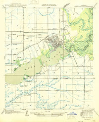 Lake Arthur Louisiana Historical topographic map, 1:31680 scale, 7.5 X 7.5 Minute, Year 1946