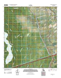 Maringouin Louisiana Historical topographic map, 1:24000 scale, 7.5 X 7.5 Minute, Year 2012