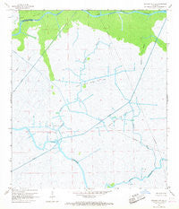 Morgan City SE Louisiana Historical topographic map, 1:24000 scale, 7.5 X 7.5 Minute, Year 1966