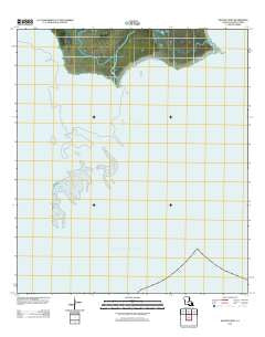 Mound Point Louisiana Historical topographic map, 1:24000 scale, 7.5 X 7.5 Minute, Year 2012