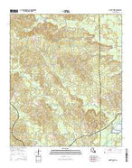 Mount Olive Louisiana Current topographic map, 1:24000 scale, 7.5 X 7.5 Minute, Year 2015 from Louisiana Map Store