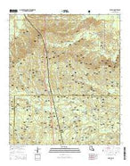 Packton Louisiana Current topographic map, 1:24000 scale, 7.5 X 7.5 Minute, Year 2015 from Louisiana Map Store