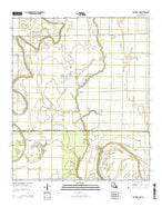 Panther Lake Louisiana Current topographic map, 1:24000 scale, 7.5 X 7.5 Minute, Year 2015 from Louisiana Map Store
