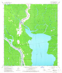 Pierre Part Louisiana Historical topographic map, 1:24000 scale, 7.5 X 7.5 Minute, Year 1966
