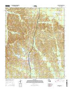 Plain Dealing Louisiana Current topographic map, 1:24000 scale, 7.5 X 7.5 Minute, Year 2015 from Louisiana Map Store
