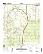 Plaucheville Louisiana Current topographic map, 1:24000 scale, 7.5 X 7.5 Minute, Year 2015 from Louisiana Map Store