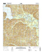 Point Louisiana Current topographic map, 1:24000 scale, 7.5 X 7.5 Minute, Year 2015 from Louisiana Map Store