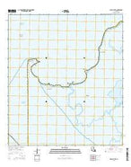 Point au Fer Louisiana Current topographic map, 1:24000 scale, 7.5 X 7.5 Minute, Year 2015 from Louisiana Map Store