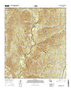 Rogillioville Louisiana Current topographic map, 1:24000 scale, 7.5 X 7.5 Minute, Year 2015 from Louisiana Map Store