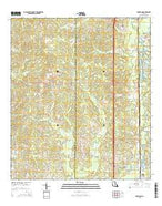 Roseland Louisiana Current topographic map, 1:24000 scale, 7.5 X 7.5 Minute, Year 2015 from Louisiana Map Store
