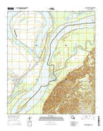 Saint Joseph Louisiana Current topographic map, 1:24000 scale, 7.5 X 7.5 Minute, Year 2015 from Louisiana Map Store