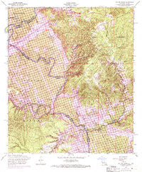 Salter Creek Louisiana Historical topographic map, 1:24000 scale, 7.5 X 7.5 Minute, Year 1954