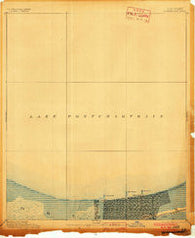 Spanish Fort Louisiana Historical topographic map, 1:62500 scale, 15 X 15 Minute, Year 1891