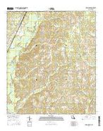 Spring Creek Louisiana Current topographic map, 1:24000 scale, 7.5 X 7.5 Minute, Year 2015 from Louisiana Map Store