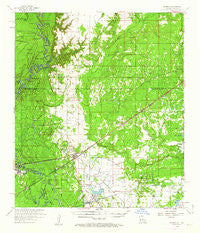 Starks Louisiana Historical topographic map, 1:62500 scale, 15 X 15 Minute, Year 1959