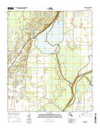 Swartz Louisiana Current topographic map, 1:24000 scale, 7.5 X 7.5 Minute, Year 2015 from Louisiana Map Store