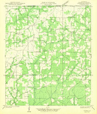 Thomas Louisiana Historical topographic map, 1:31680 scale, 7.5 X 7.5 Minute, Year 1942