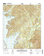 Toro Louisiana Current topographic map, 1:24000 scale, 7.5 X 7.5 Minute, Year 2015 from Louisiana Map Store