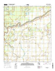 Walters Louisiana Current topographic map, 1:24000 scale, 7.5 X 7.5 Minute, Year 2015