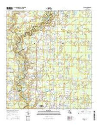Watson Louisiana Current topographic map, 1:24000 scale, 7.5 X 7.5 Minute, Year 2015