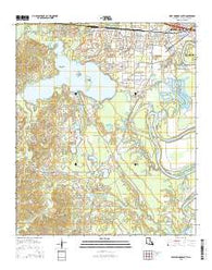 West Monroe South Louisiana Current topographic map, 1:24000 scale, 7.5 X 7.5 Minute, Year 2015