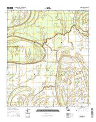 Westwood Louisiana Current topographic map, 1:24000 scale, 7.5 X 7.5 Minute, Year 2015