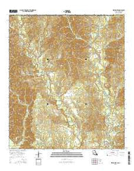 Weyanoke Louisiana Current topographic map, 1:24000 scale, 7.5 X 7.5 Minute, Year 2015