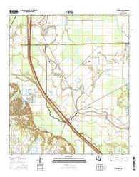 Whiteville Louisiana Current topographic map, 1:24000 scale, 7.5 X 7.5 Minute, Year 2015