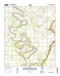 Whitney Island North Louisiana Current topographic map, 1:24000 scale, 7.5 X 7.5 Minute, Year 2015