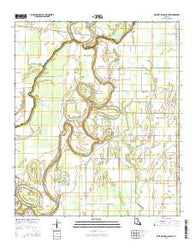 Whitney Island South Louisiana Current topographic map, 1:24000 scale, 7.5 X 7.5 Minute, Year 2015