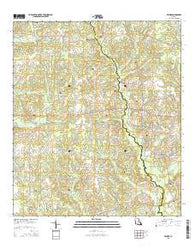 Wilmer Louisiana Current topographic map, 1:24000 scale, 7.5 X 7.5 Minute, Year 2015