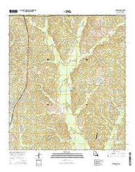 Wilson Louisiana Current topographic map, 1:24000 scale, 7.5 X 7.5 Minute, Year 2015