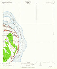 Wilson Point Mississippi Historical topographic map, 1:24000 scale, 7.5 X 7.5 Minute, Year 1909