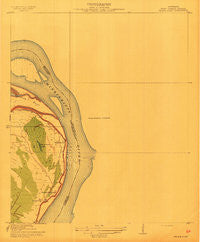 Wilson Point Mississippi Historical topographic map, 1:31680 scale, 7.5 X 7.5 Minute, Year 1913