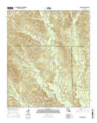 Wilson Creek Louisiana Current topographic map, 1:24000 scale, 7.5 X 7.5 Minute, Year 2015