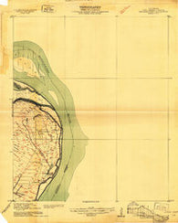 Wilsons Point Mississippi Historical topographic map, 1:24000 scale, 7.5 X 7.5 Minute, Year 1909