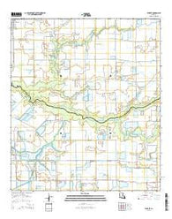 Wright Louisiana Current topographic map, 1:24000 scale, 7.5 X 7.5 Minute, Year 2015