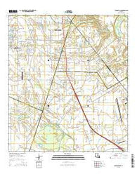 Youngsville Louisiana Current topographic map, 1:24000 scale, 7.5 X 7.5 Minute, Year 2015