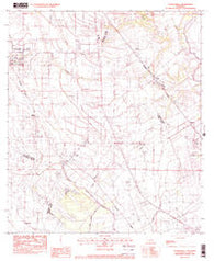 Youngsville Louisiana Historical topographic map, 1:24000 scale, 7.5 X 7.5 Minute, Year 1983