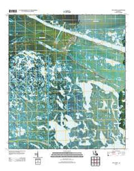 Yscloskey Louisiana Historical topographic map, 1:24000 scale, 7.5 X 7.5 Minute, Year 2012