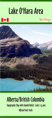 Purchase canada national park clip from British Columbia Maps Store