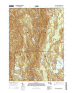 Bash Bish Falls Massachusetts Current topographic map, 1:24000 scale, 7.5 X 7.5 Minute, Year 2015 from Massachusetts Map Store
