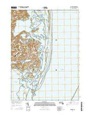 Chatham Massachusetts Current topographic map, 1:24000 scale, 7.5 X 7.5 Minute, Year 2015 from Massachusetts Maps Store
