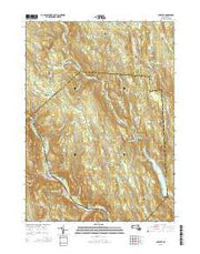 Chester Massachusetts Current topographic map, 1:24000 scale, 7.5 X 7.5 Minute, Year 2015 from Massachusetts Maps Store