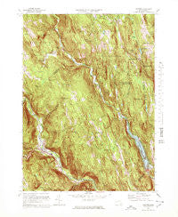 Chester Massachusetts Historical topographic map, 1:25000 scale, 7.5 X 7.5 Minute, Year 1972
