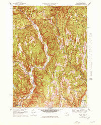 Colrain Massachusetts Historical topographic map, 1:25000 scale, 7.5 X 7.5 Minute, Year 1977